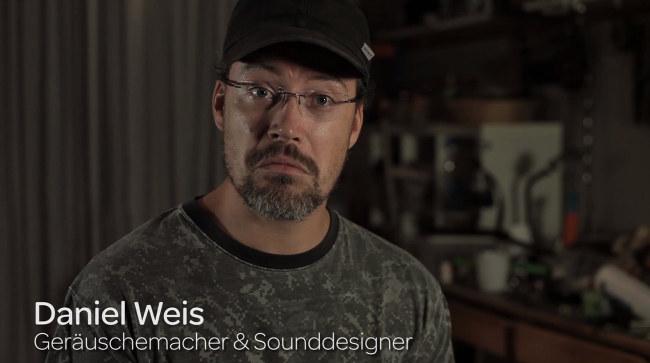 Daniel Weis - Geräuschemacher und Sounddesigner