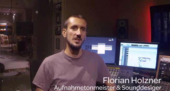 Florian Holzner - Aufnahmetonmeister & Sounddesigner
